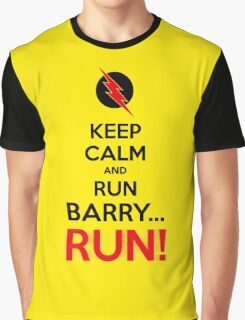 RUN BARRY RUN (The Reverse)! Graphic T-Shirt