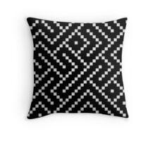 Chip-8 Maze Throw Pillow