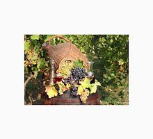 vineyard with grape and wine  Unisex T-Shirt