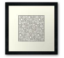 pencil pinatas ivory Framed Print