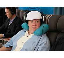 Melissa McCarthy Airplane Bridesmaids Photographic Print