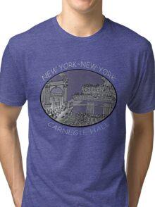 NYC-Carnegie Hall Tri-blend T-Shirt