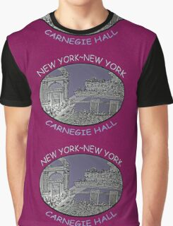 NYC-Carnegie Hall Graphic T-Shirt