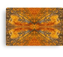 Rorschach Rust Canvas Print