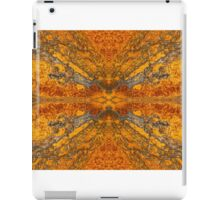 Rorschach Rust iPad Case/Skin