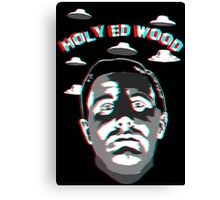 Holy Ed Wood Canvas Print