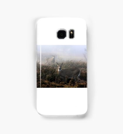 The rut is on! - White-tailed deer  Samsung Galaxy Case/Skin