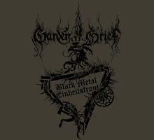 """Einheitsfront Sigil: """"Black Metal Einheitsfront"""" & Logo (BLACK) Unisex T-Shirt"""