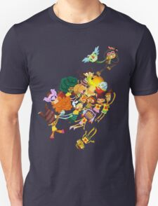 Whispering Rock Psychic Summer Camp Pals T-Shirt