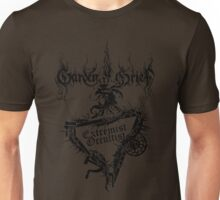 """Einheitsfront Sigil: """"Extremist Occultist"""" & Logo (BLACK) Unisex T-Shirt"""