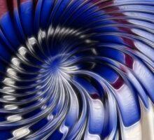 Twirling ripples Sticker