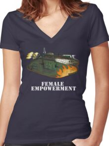 Female Empowerment Women's Fitted V-Neck T-Shirt