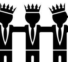 Saturday Night Party-Kings (Black) Sticker