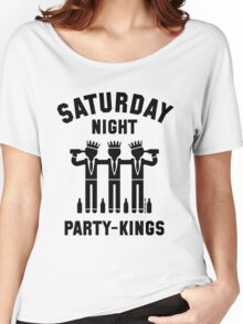 Saturday Night Party-Kings (Black) Women's Relaxed Fit T-Shirt
