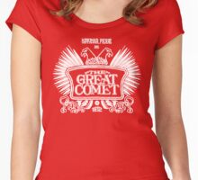 Natasha, Pierre, and the Great Comet of 1812 Women's Fitted Scoop T-Shirt