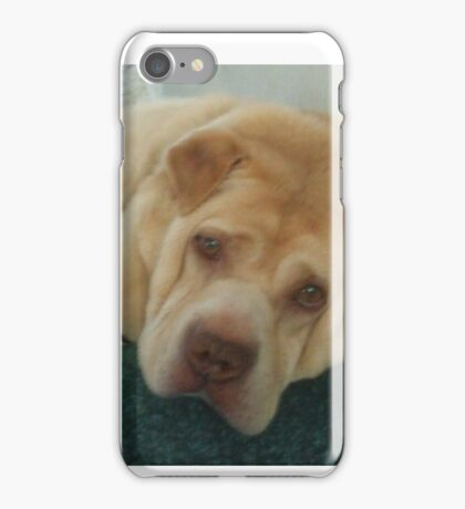 And You Woke Me Because..... iPhone Case/Skin