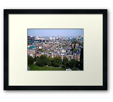 Boston Beacon Hill Framed Print
