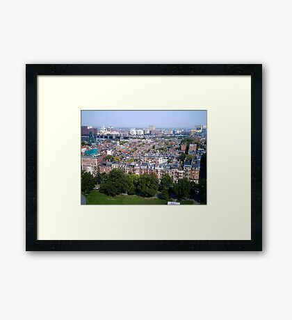 Boston Beacon Hill Framed Print