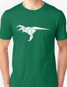 Origami T-Rex Unisex T-Shirt