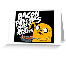 Bacon Pancake  Greeting Card