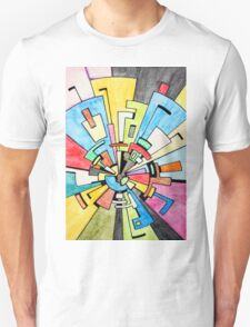 Abstract Tunnel T-Shirt