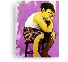 Gary Muppet Portrait Canvas Print