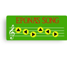 Eponas Song Canvas Print