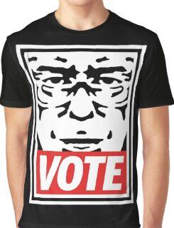 Bernie Obey Shirt - Shepard Fairey Endorses Bernie Sanders Graphic T-Shirt
