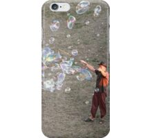 Bubbles at Sunset iPhone Case/Skin