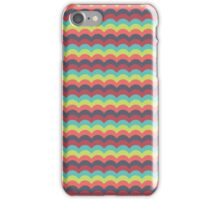 Pink Sky Wave Pattern iPhone Case/Skin