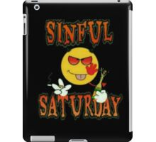 Sinful Saturday  iPad Case/Skin