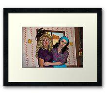 Welcome To Sadie's Saloon Framed Print