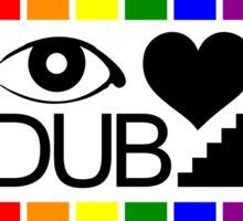 Dubstep Love Sticker