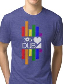 Dubstep Love Tri-blend T-Shirt