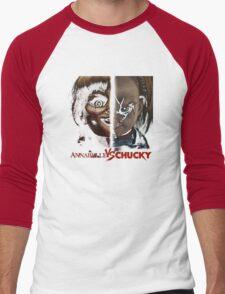 annabelle vs chucky Men's Baseball ¾ T-Shirt