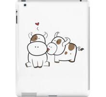 Cute cows iPad Case/Skin