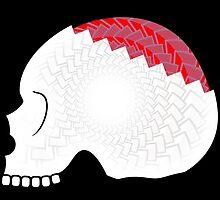 Zombie Skull by MikeTheGinger94