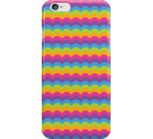 Bright Hue Wave Pattern iPhone Case/Skin
