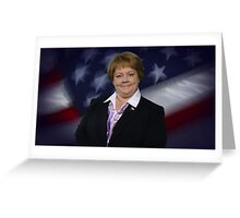 Melissa McCarthy 4 prez Greeting Card