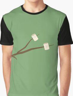 Marshmallows on stick Graphic T-Shirt
