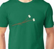 Marshmallows on stick Unisex T-Shirt
