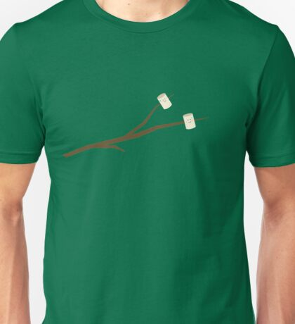 Marshmallows on stick Unisex T-Shirt