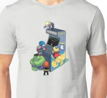 superhero kids playing game Unisex T-Shirt