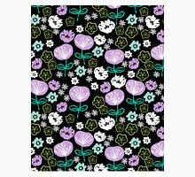 Flowers - black love lilac pastel by andrea lauren Classic T-Shirt