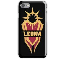 Leona's Shield  iPhone Case/Skin
