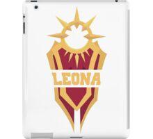 Leona's Shield  iPad Case/Skin