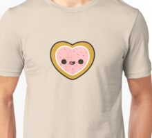 Cute heart cookie with sprinkles Unisex T-Shirt
