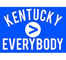 Kentucky > Everbody - Go Wildcats Photographic Print