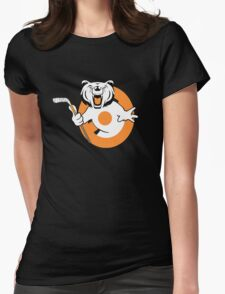 Ghost Bear Womens Fitted T-Shirt