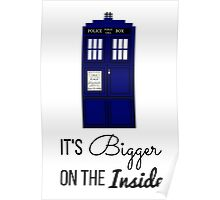 Doctor Who Tardis: It's Bigger on the Inside (Script) Poster
